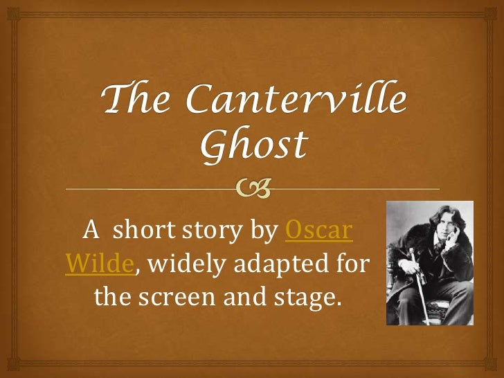 How to write a modern ghost story