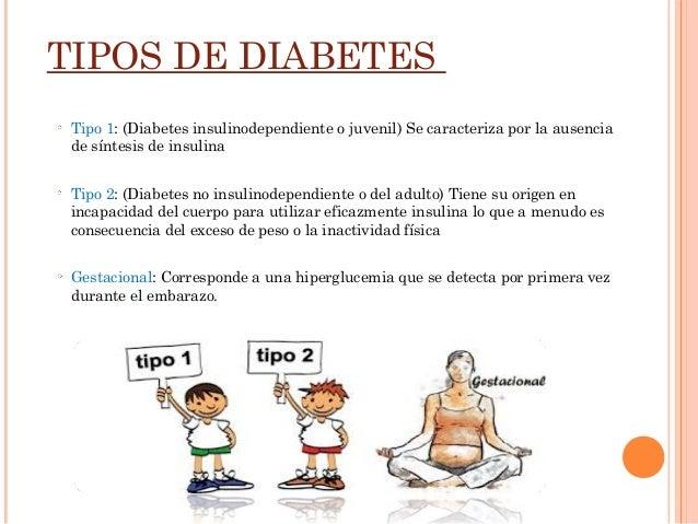 clases de diabetes tipo 2