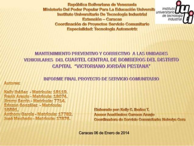DISTRITO CAPITAL CUADRO 1. DISTRIBUCIÓN PORCENTUAL DE LA POBLACIÓN (VALORES RELATIVOS), SEGÚN PARROQUIA CENSOS 2001 – 2011