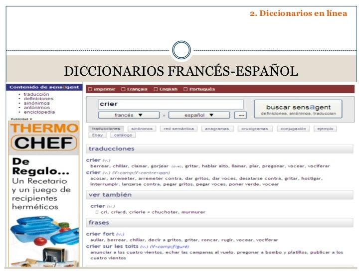 Presentación diccionarios