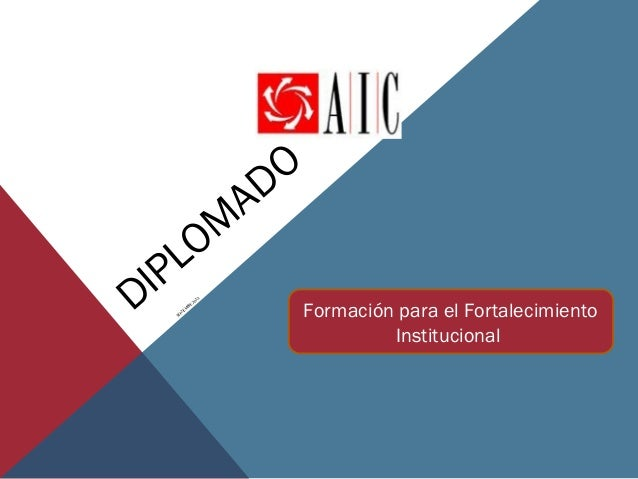 M O L IP D M IE PT SE  E BR  13 20  A  O D Formación para el Fortalecimiento Institucional