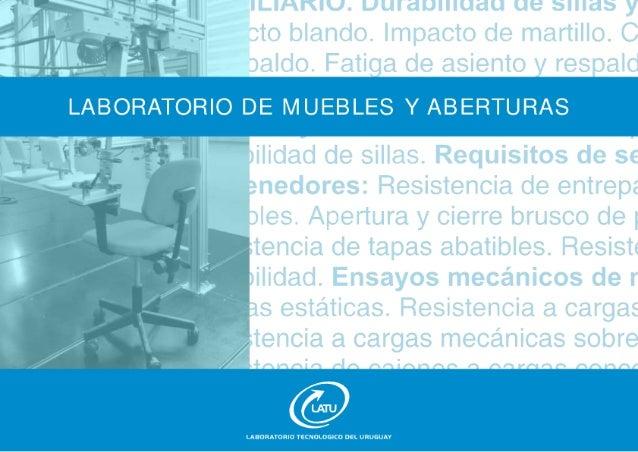 Laboratorio de Muebles y Aberturas - LATU