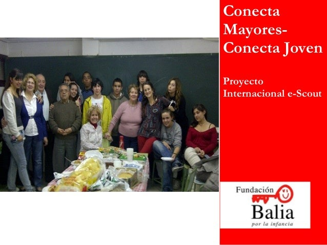 ConectaMayores-Conecta JovenProyectoInternacional e-Scout