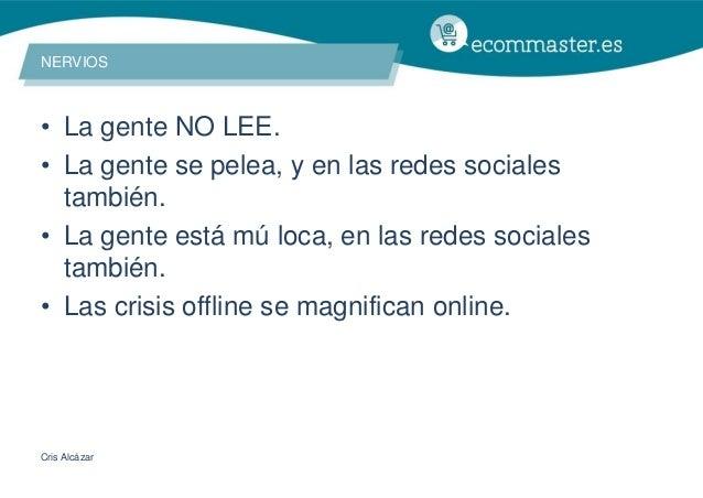 III Congreso Ecommaster - Mujeres Social Commerce al Borde de un Ataque de Nervios Slide 2