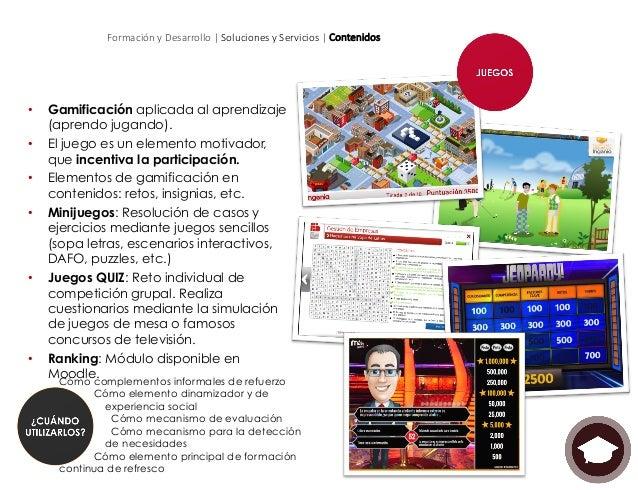 Formación y Desarrollo | Soluciones y Servicios | Contenidos • Modelo de trabajo empleado en proyectos de creació...