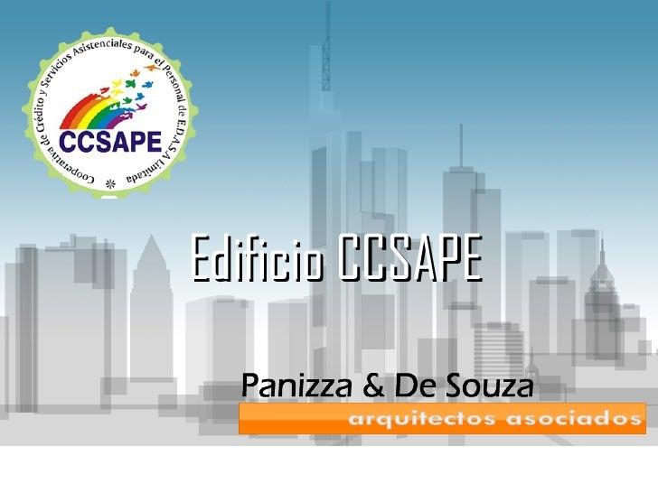 Edificio CCSAPE