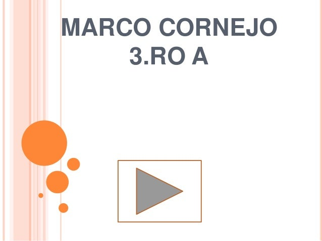 MARCO CORNEJO 3.RO A