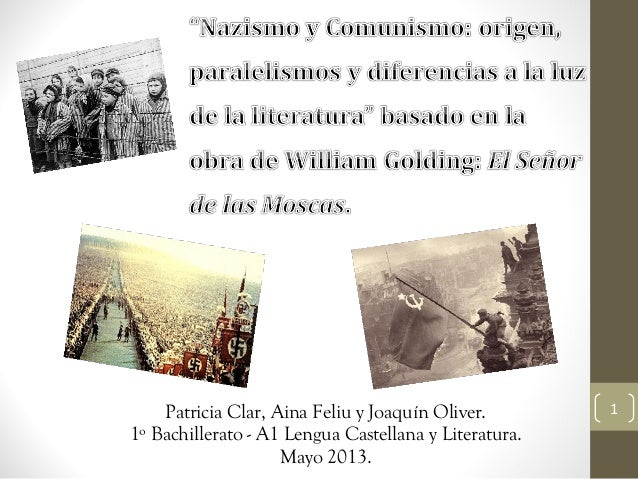 1Patricia Clar, Aina Feliu y Joaquín Oliver.1º Bachillerato - A1 Lengua Castellana y Literatura.Mayo 2013.