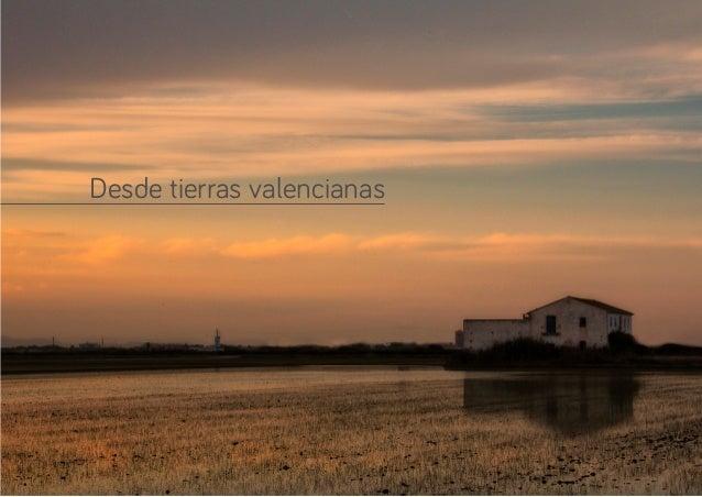 Desde tierras valencianas