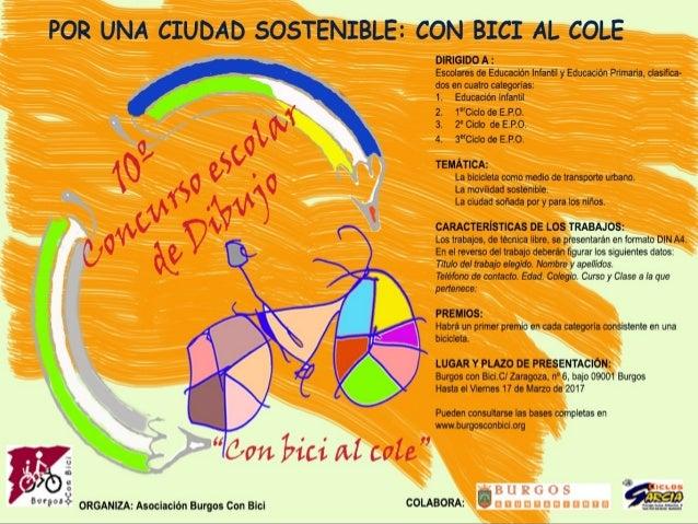 Entrega de premios 10 concurso de dibujo burgos con bici - Concurso de dibujo 2017 ...