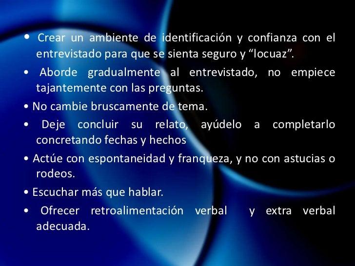 Cuándo utilizar entrevistas <br />en profundidad<br /><ul><li>Sondeo detallado del entrevistado.</li></ul>• Análisis de te...