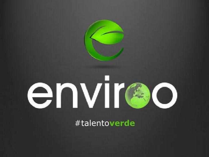 #talentoverde