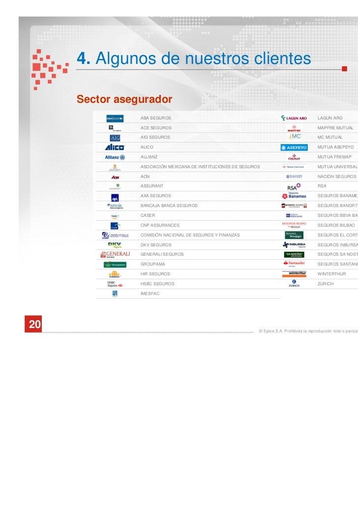 Presentaci n corporativa del grupo epise - Caser grupo asegurador ...