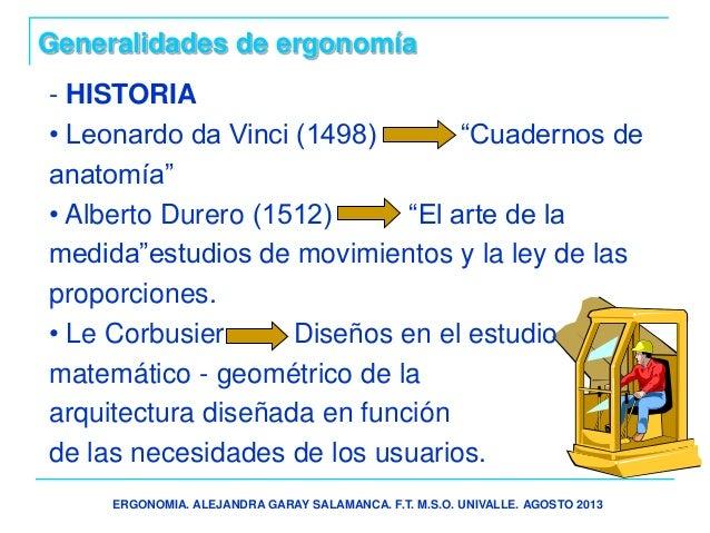 Presentacion ergonomia for Caracteristicas de la ergonomia