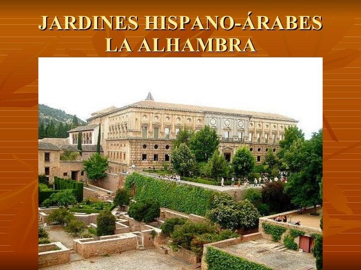jardines la alhambra