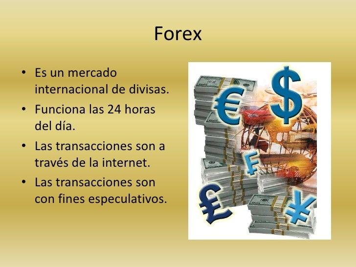 Como funciona el mercado internacional de divisas forex