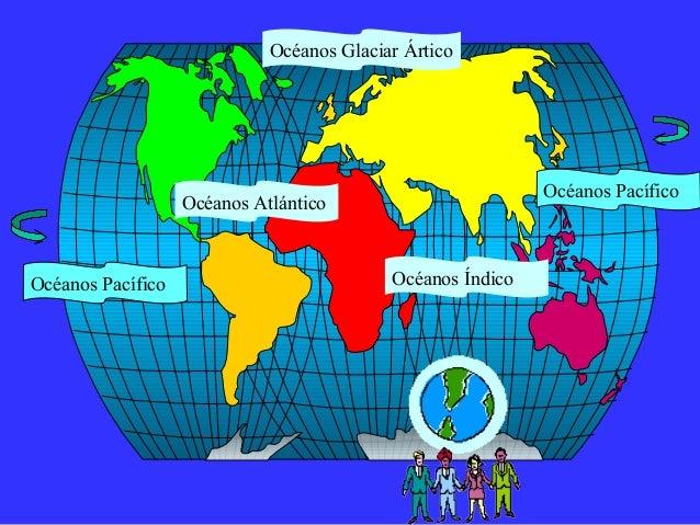 Presentaciones mapa mundial geografico
