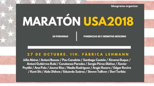 Antoni Bassas @antonibassas #MaratonUSA