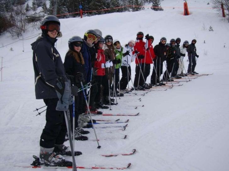 Presentacion esquiada