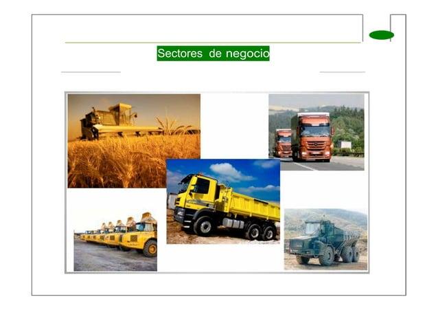 Sectores de negocio