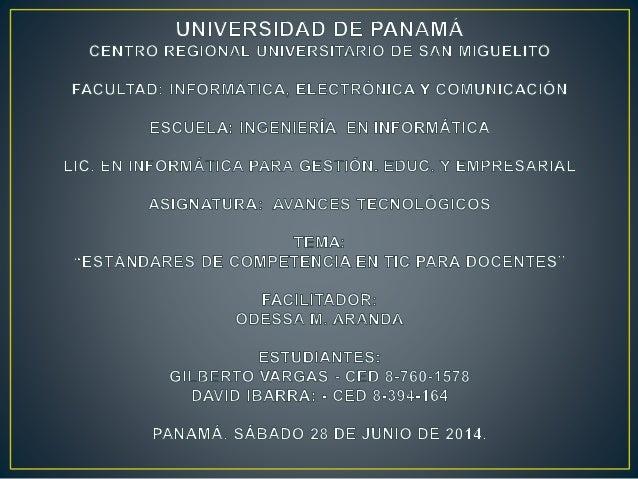 INTRODUCCION Hacemos este trabajo a solicitud de la profesora Odessa Aranda, la cual dicta el curso de Avances Tecnológico...
