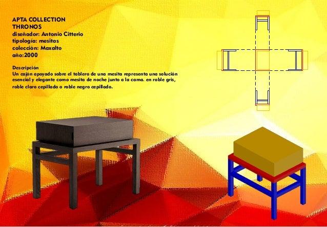Presentaciones visuales muebles presentacion impresa