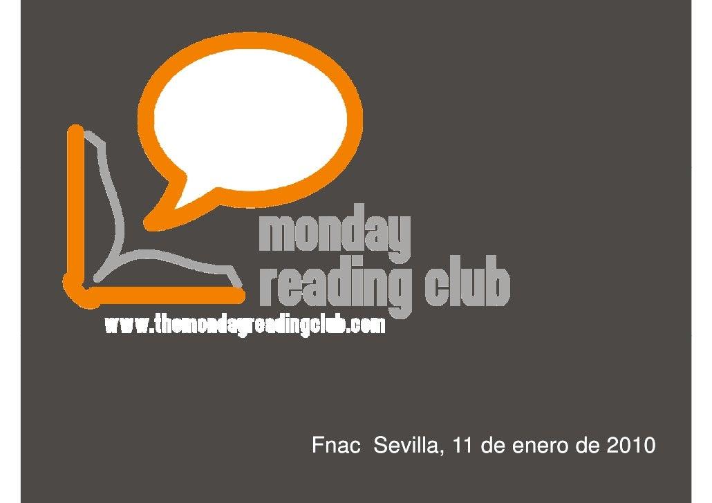 Fnac Sevilla, 11 de enero de 2010