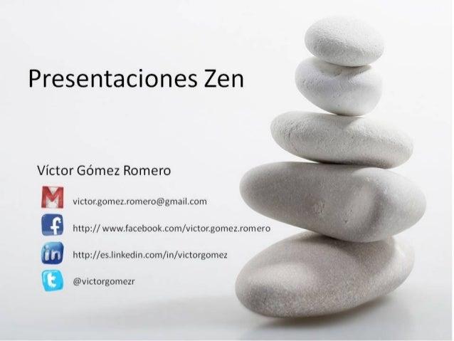 Presentaciones Zen