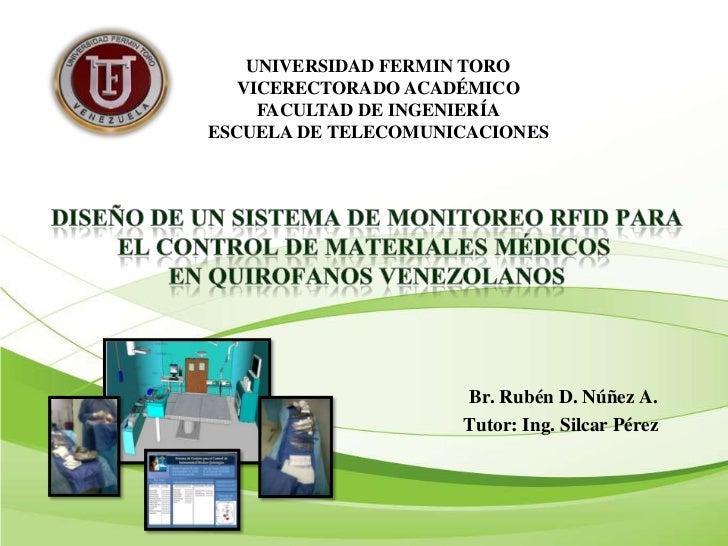 UNIVERSIDAD FERMIN TORO   VICERECTORADO ACADÉMICO     FACULTAD DE INGENIERÍAESCUELA DE TELECOMUNICACIONES                 ...