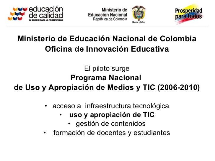 Presentacion evaluacion 1a1 elena for Oficina nacional de evaluacion
