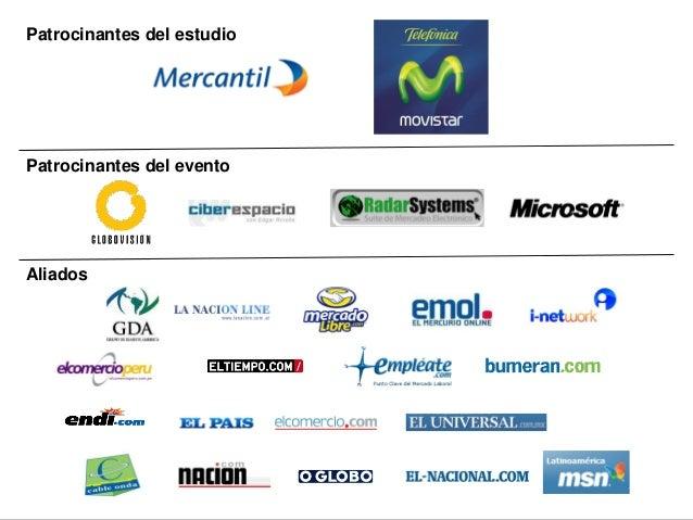 ®tendenciasdigitales.com2010 Patrocinantes del estudio Aliados Patrocinantes del evento
