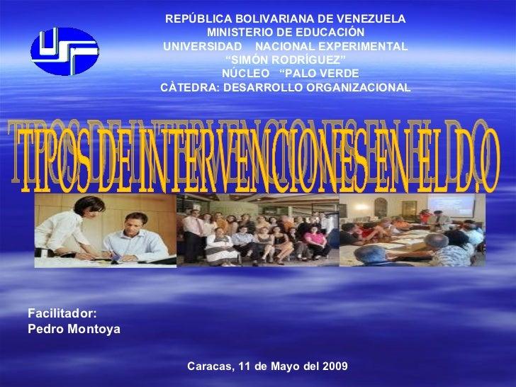 REPÚBLICA BOLIVARIANA DE VENEZUELA                       MINISTERIO DE EDUCACIÓN                 UNIVERSIDAD NACIONAL EXPE...