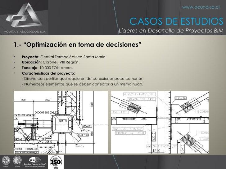 """<ul><li>1.- """"Optimización en toma de decisiones"""" </li></ul><ul><li>Proyecto : Central Termoeléctrica Santa María. </li></u..."""