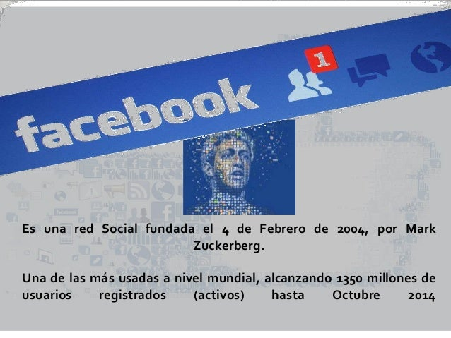 Presentacion facebook Slide 2