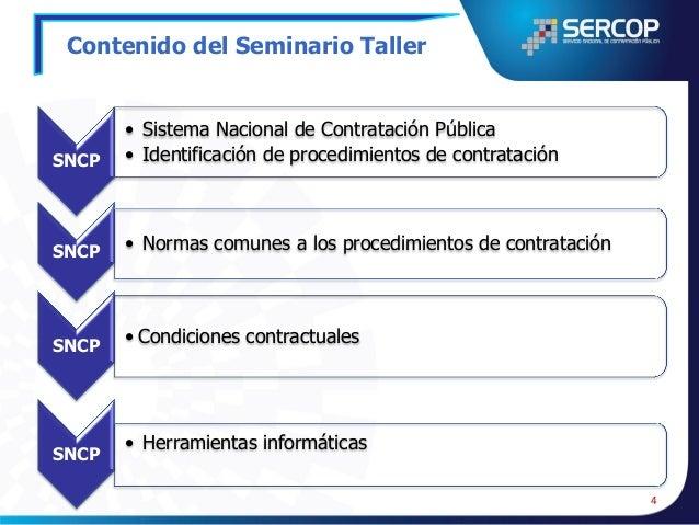 ANTECEDENTES SISTEMA NACIONAL DE CONTRATACIÓN PÚBLICA