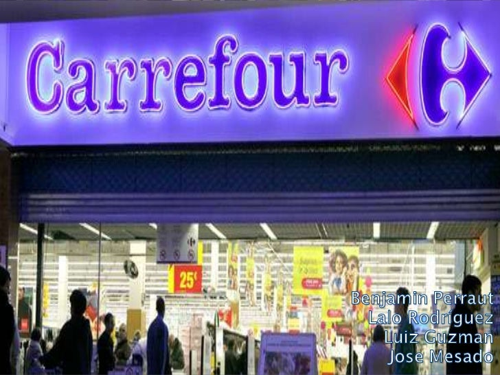 Carrefour Logistic Management