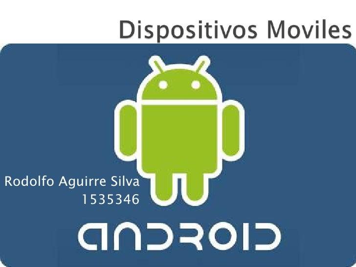 Rodolfo Aguirre Silva           1535346