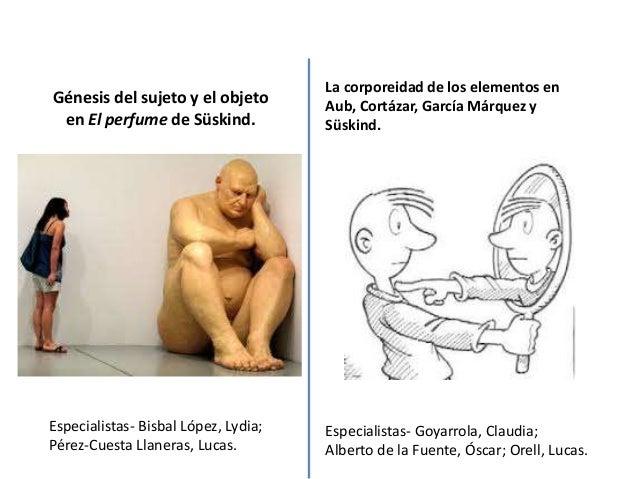 Génesis del sujeto y el objetoen El perfume de Süskind.Especialistas- Bisbal López, Lydia;Pérez-Cuesta Llaneras, Lucas.La ...