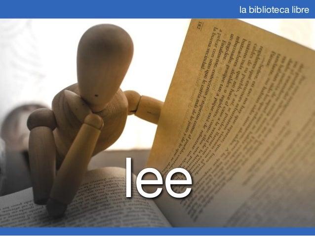 La Biblioteca Libre - Julio 2013 Slide 3