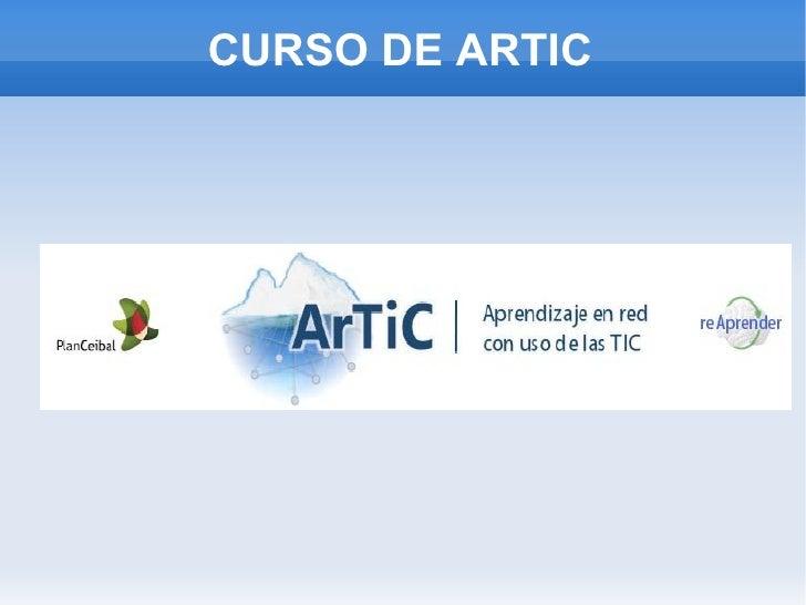 CURSO DE ARTIC