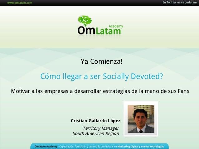 En Twitter usa #omlatam                                                            En Twitter usa #omlatam                ...