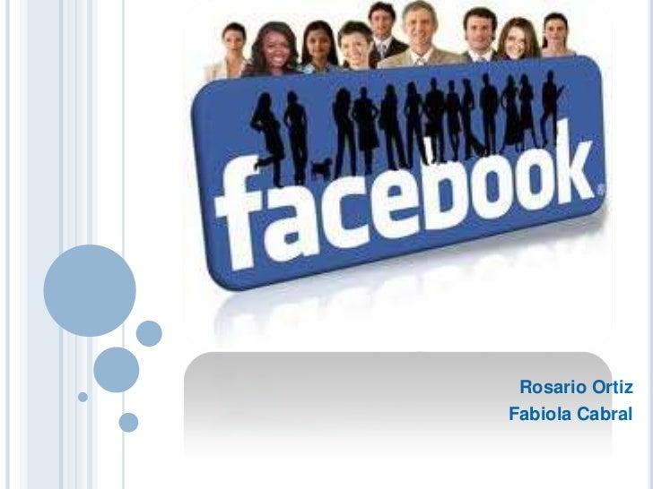Presentacion Del Tema Facebook Diplomado