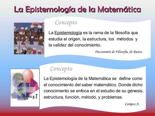 Estrategia Para La Enseñanza De La Matemática Epistemologia
