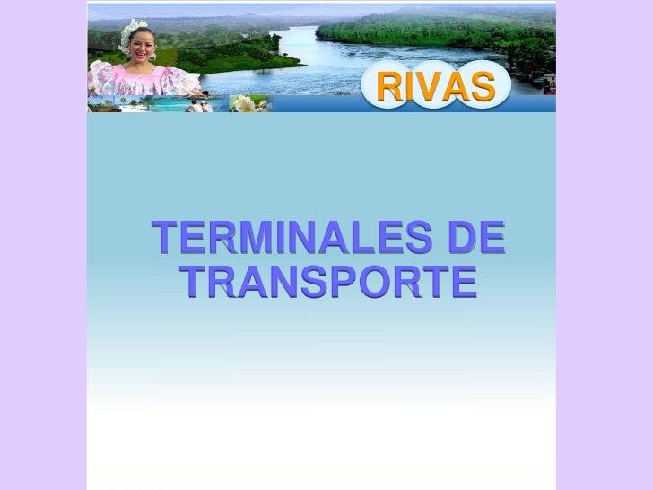 RIVAS    SELECCION DEL SITIO