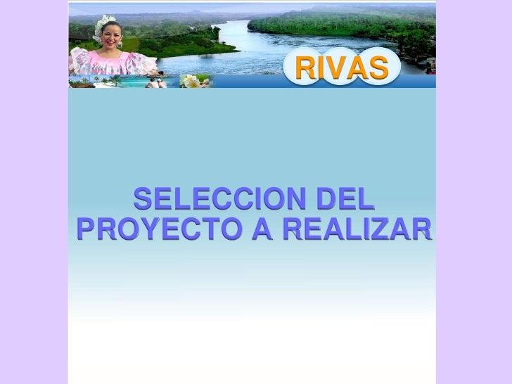 RIVAS    ESQUEMA DE PRODUCCION   HARINA DE PLATANO