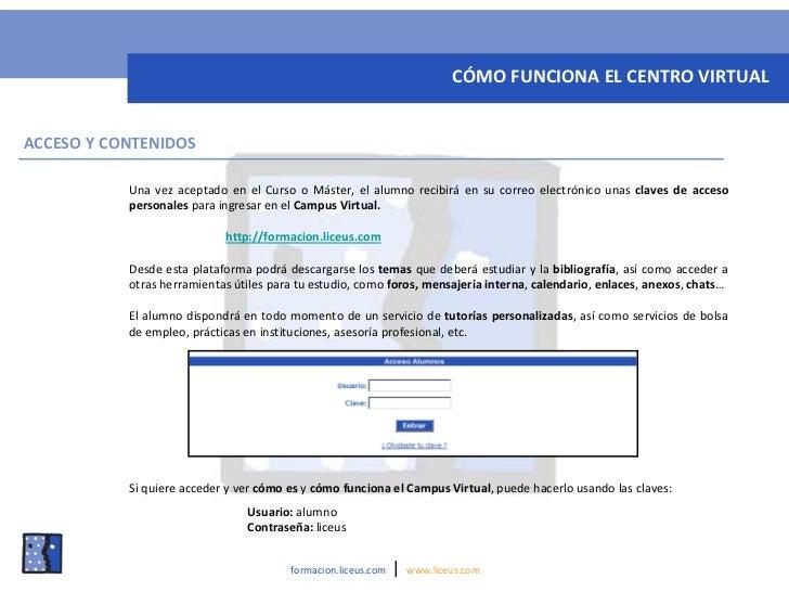 Centro de formacion on line de liceus for Oficina virtual de formacion profesional para el empleo