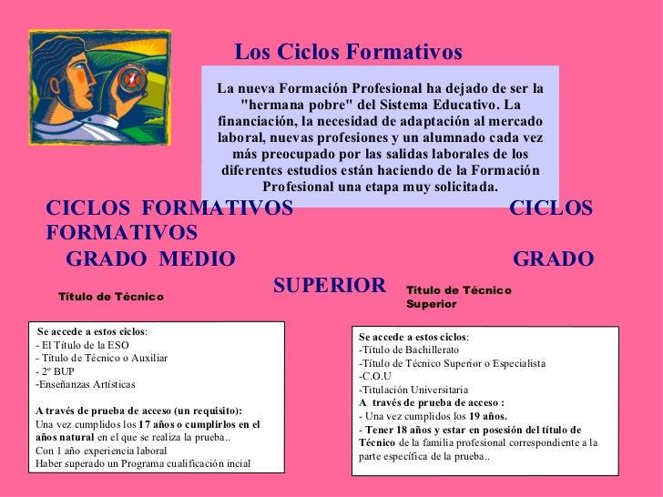 Presentacion Formacion Profesional 2010 11