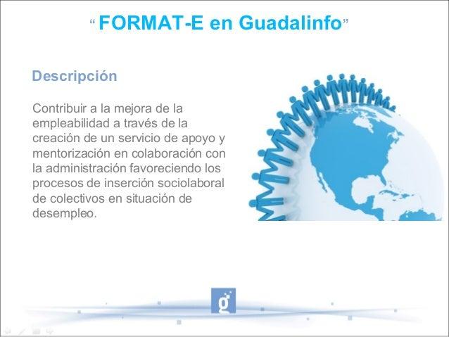 Presentación Format-e Con Guadalinfo Slide 2