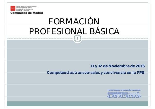 Fp Básica En La Comunidad De Madrid