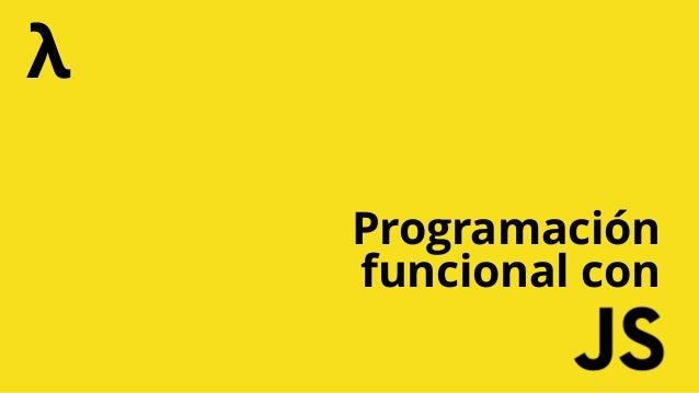 Programación funcional con λ